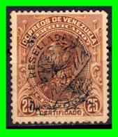 VENEZUELA SELLO RESELLADO AÑO 1900 SIMON BOLIVAR - Venezuela