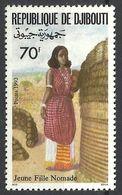 1993Djibouti576National Costumes2,00 € - Djibouti (1977-...)