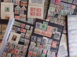 Espagne Belle Collection D'anciens 1910/1940. Nombreux Locaux, Vignettes Guerre Civile, Forte Cote! B/TB. A Saisir! - Verzamelingen