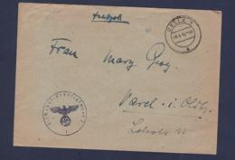 German Feldpost WW2: 1./Nebel - Lehrregiment 2 P/m Celle 10.4.1943 - Cover (G114-5) - Militaria