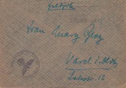 German Feldpost WW2: 1./Nebel - Lehrregiment 2 P/m Celle 10.2.1943 - Cover (G114-5) - Militaria