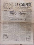 Journal Le Caïffa - Numéro 53 - Avril 1932 -Mensuel Illustré - Contes De La Ville Et De La Campagne- Publicités- Banania - Andere