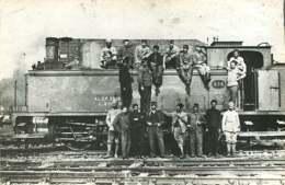 120820A - PHOTO RETIRAGE TARDIF CHARIERAS CAHORS 46 LOT - Chemin De Fer Gare Train - LA MEUSE Cheminots - Trains