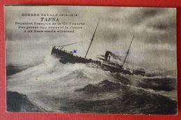 FRENCH  STEAMER SS. TAFNA , LE PAQUEBOT - Piroscafi