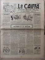 Journal Le Caïffa - Numéro 44 De Juillet 1931 -Mensuel Illustré - Contes De La Ville Et De La Campagne- Publicités- - Andere