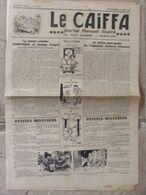 Journal Le Caïffa - Numéro 130-131 (sept/oct 1938) - Contes De La Ville Et De La Campagne- Publicités-Banania - Autres