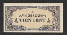 Japanese Occupation Indonesia 10 Cent 1942 UNC - Indonesien