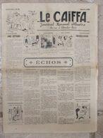 Journal Le Caïffa - Numéro 111 (fév 1937) - Mensuel Illustré- Publicités-Banania - Andere