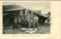 JORDANIE - Carte Postale - Bédouines Du Moab Devant Leur Tente - L 67000 - Jordanien