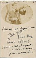 Carte-Photo : Musicien - Violonniste Par Touranchet à Levallois-Perret  (Ca 1910) (BP) - Mestieri