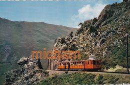 CPSM Petit Format 9 X 14  -   64 LA RHUNE  La Bréche  Petit Train - Francia