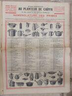 Journal Le Caïffa - Numéro 14 (janvier 1929) - Mensuel Illustré- Publicités - Nomenclature - Andere