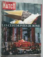 PARIS-MATCH N°740 (1963) - Mort Du Pape Jean XXIII - Gente