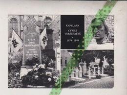 Kapelaan Cyriel Verschaeve, Ardooie 1874, Solebad Hall 1949. Fotokaart  Uitgeverij Van Mieghem Oostende - Ardooie