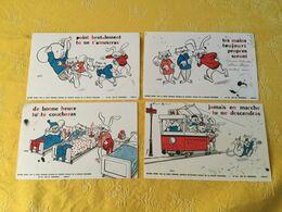 4 Buvards Offerts Par La Caisse Primaire Centrale De Sécurité Sociale. - Kinder