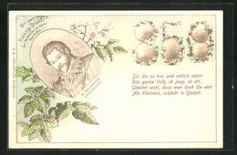 Lithographie Sir Francis Drake, Der Verbreiter Unserer Kartoffel - Cultures