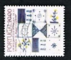 PORTOGALLO (PORTUGAL)  -  SG 2031 - 1985 TILES: M. CARGALEIRO  -     USED° - 1910-... République