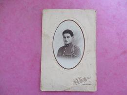 PHOTO MILITAIRE UNIFORME N°21 PHOTO CARTIER 94 VINCENNES - Ancianas (antes De 1900)