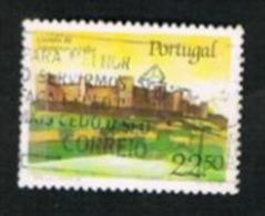 PORTOGALLO (PORTUGAL)  -  SG 2055  - 1986 CASTLES: MONTEMOR-O-VELHO  -     USED° - 1910-... République