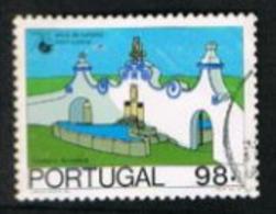 PORTOGALLO (PORTUGAL)  -  SG 2069  - 1987  TOURISM: FOUNTAIN, ARRAIOLOS  -     USED° - 1910-... République