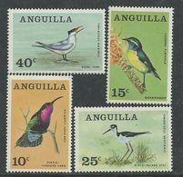 Anguilla N° 20 / 23 XX Oiseaux Indigènes La Série Des 4 Valeurs Sans Charnière, TB - Anguilla (1968-...)