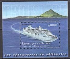 B0577 REPUBLIC OF GUINEA,  Ship Ocean Princess, Liner, MNH - Guinee (1958-...)