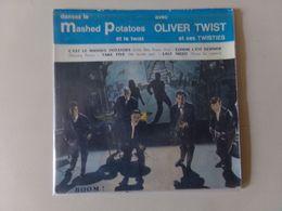 """45 T Oliver Twist """" C'est Le Mashed Potatoes + Comme L'été Dernier + Take Five + Last Night """" - Other - French Music"""