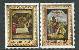 Anguilla N° 37 / 38 XX Pâques Les 2 Valeurs Sans Charnière, TB - Anguilla (1968-...)