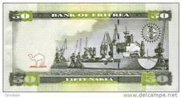 ERITREA P.  9 50 N 2011 UNC - Eritrea