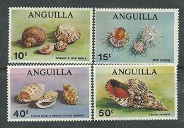 Anguilla N° 43 / 46 XX Coquillages Divers  La Série Des 4 Valeurs Sans Charnière, TB - Anguilla (1968-...)
