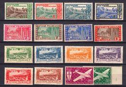 GUYANE   NEUFS MNH **  1932 1939    Cote 21€ Guyane - Neufs