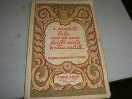 CATALOGO SPECIALITA' PER LE FAMIGLIE PRODOTTI CARLO ERBA - Reclame