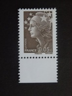 N°4227a - LUXE** - 0€05 - Marianne De Beaujard - Sans Phosphore - Bord De Feuille - Nuevos