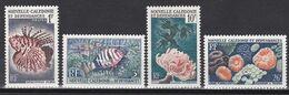 Neukaledonien 1959 - Mi.Nr. 364 - 367 - Postfrisch MNH - Tiere Animals Fische Fishes - Fishes