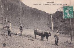 Cantal - La Cascade De FALHITOUX Et La Falaise - Altri Comuni