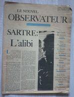 LE NOUVEL OBSERVATEUR N°1 (1964) - Informaciones Generales