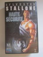 CASSETTE VIDEO VHS Sylvester Stallone Haute-sécurité - Actie, Avontuur