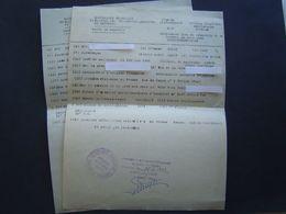 2 X CERTIFICAT RAPATRIE 1953 : TOULON / VAR - Documentos Históricos