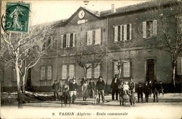 ALGÉRIE - Carte Postale - Tassin - Ecole Communale - L 67026 - Andere Städte