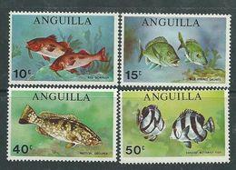 Anguilla N° 52 / 55 XX Poisson De Mer, La Série Des 4 Valeurs Sans Charnière, TB - Anguilla (1968-...)