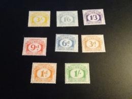 K33619 -set MNH  Papua New Guinea 1960 - SC. J7-14 - Postage Due - Papua New Guinea