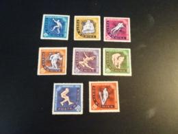 K33665 - Set MNh  Romania 1964 - SC. 1597--1604  - Olympics Innsbruck - Winter 1964: Innsbruck