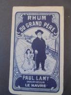 RHUM - RHUM DU GRAND-PERE : PAUL LAMY, LE HAVRE : PETIT CARNET POUR ECRITURE - Rhum