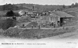 CPA, Houillères De La Corrèze, Cublac, Puits Festugières, Animée - Autres Communes