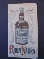RHUM - RHUM NAURA, ANNEE 1929 : PETIT CARNET PUBLICITAIRE POUR ECRITURE - Rhum