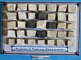 Tesselles De Mosaïque. Epoque Romaine. - Archéologie