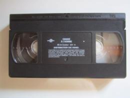 CASSETTE VIDEO VHS ORIGINAL CHASSE A L'HOMME VAN DAMNE - JAQUETTE De TELE K7 - Actie, Avontuur