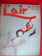 L'AIR  1934 - Livres, BD, Revues
