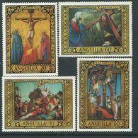 Anguilla N° 60 / 63 XX Pâques, La Série Des 4 Valeurs Sans Charnière, TB - Anguilla (1968-...)