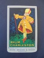 RHUM - RHUM CHARLESTON , MARIE BRIZARD ET ROGER, BORDEAUX : PETIT CARNET POUR ECRITURE - Rhum